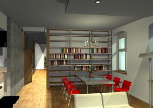Architekt Pabianice OOO studio Architektura i Design portfolio projekt wnetrza mieszkanie 8