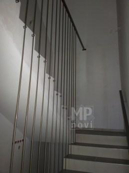 Architekt Pabianice OOO studio Architektura i Design Balustrada schodowa stal nierdzewna harfowa 2