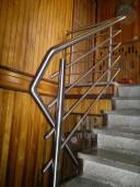 Architekt Pabianice OOO studio Architektura i Design Balustrada schodowa stal nierdzewna wypelnienie z pretow 5