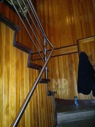 Architekt Pabianice OOO studio Architektura i Design Balustrada schodowa stal nierdzewna wypelnienie z pretow 6