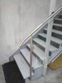 Architekt Pabianice OOO studio Architektura i Design Balustrada zewnetrzna stal nierdzewna wypelnienie szklane 1