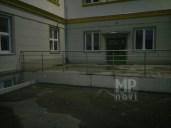 Architekt Pabianice OOO studio Architektura i Design Balustrada zewnetrzna stal nierdzewna wypelnienie z pretow 3