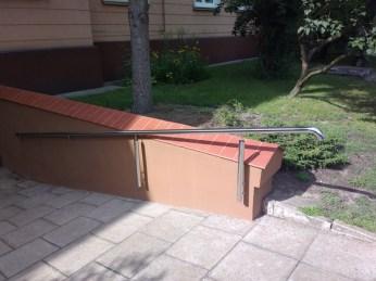 Architekt Pabianice OOO studio Architektura i Design stal nierdzewna balustrada pochylnia nietypowa rury 1