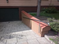 Architekt Pabianice OOO studio Architektura i Design stal nierdzewna balustrada pochylnia nietypowa rury 2