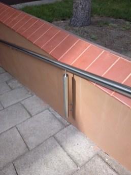Architekt Pabianice OOO studio Architektura i Design stal nierdzewna balustrada pochylnia nietypowa rury 5