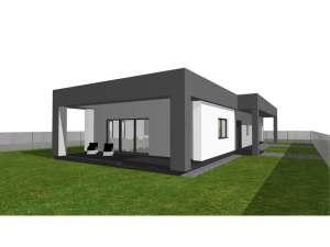 Architekt Pabianice OOO studio Architektura i Design portfolio_dom jednorodzinny z attyka 1