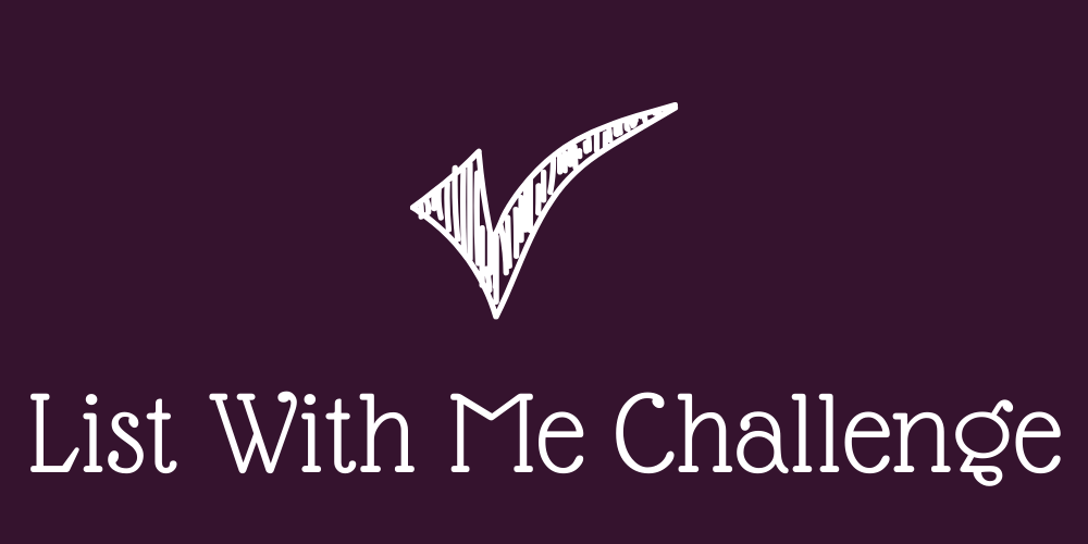 List with Me Challenge
