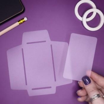 pocket maker journal stencil