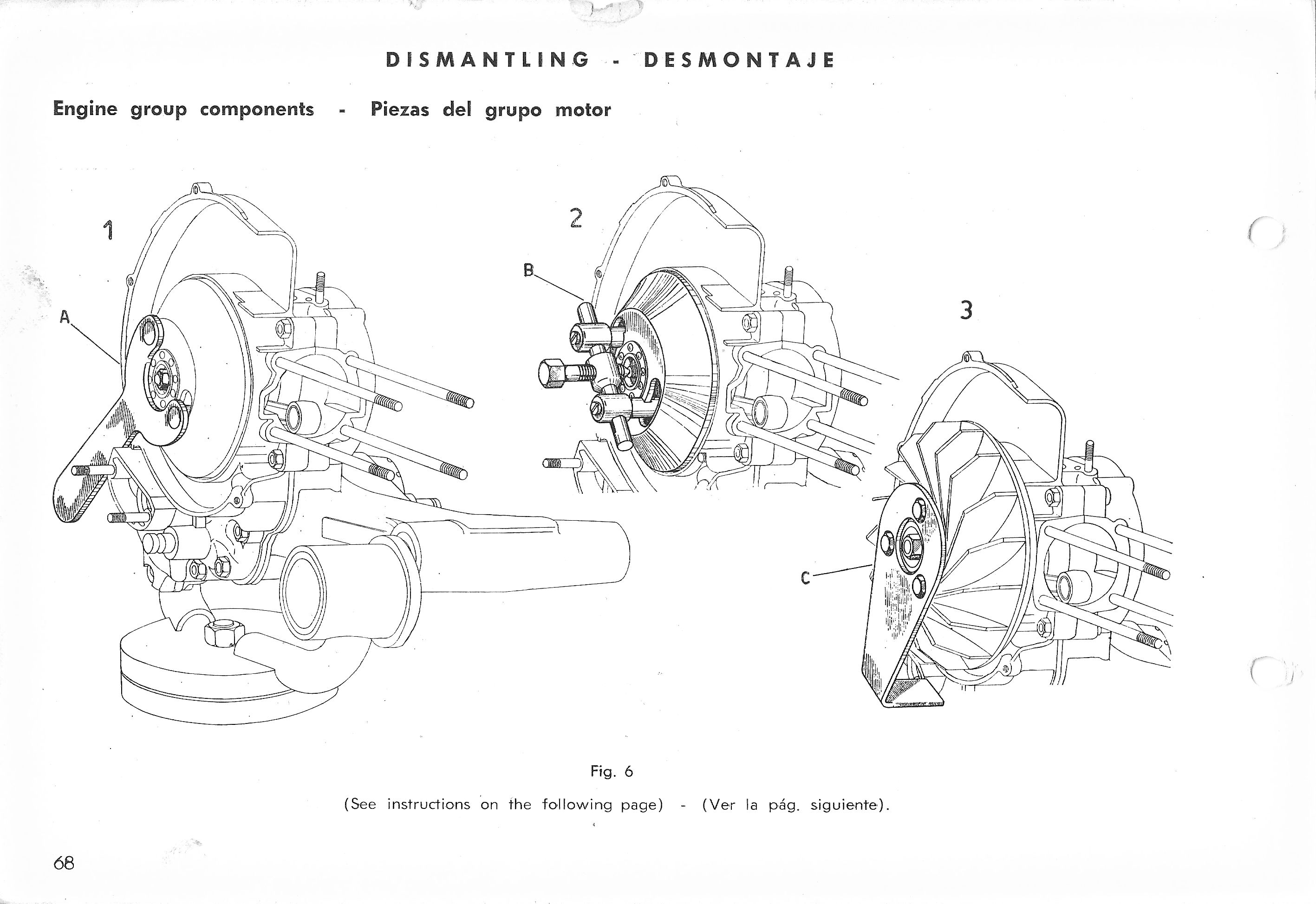 Vespa Service Station Manual 68