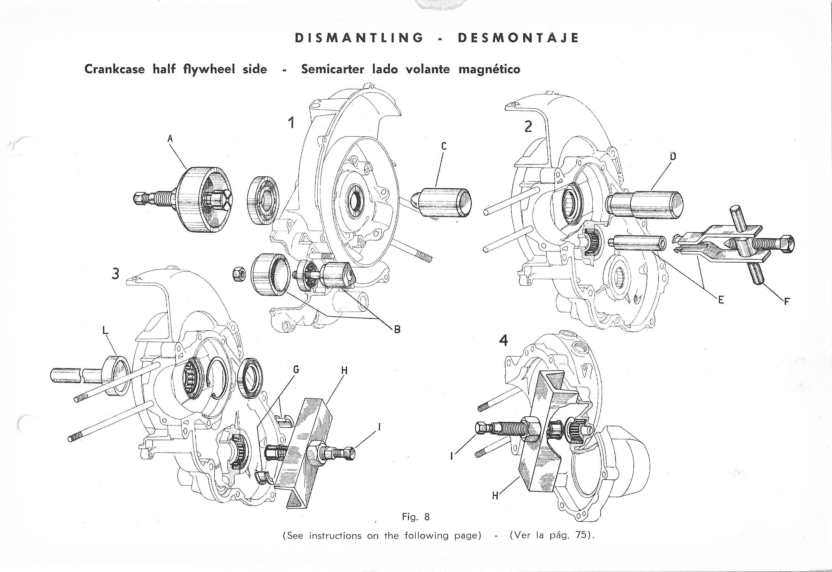 Vespa Service Station Manual 73