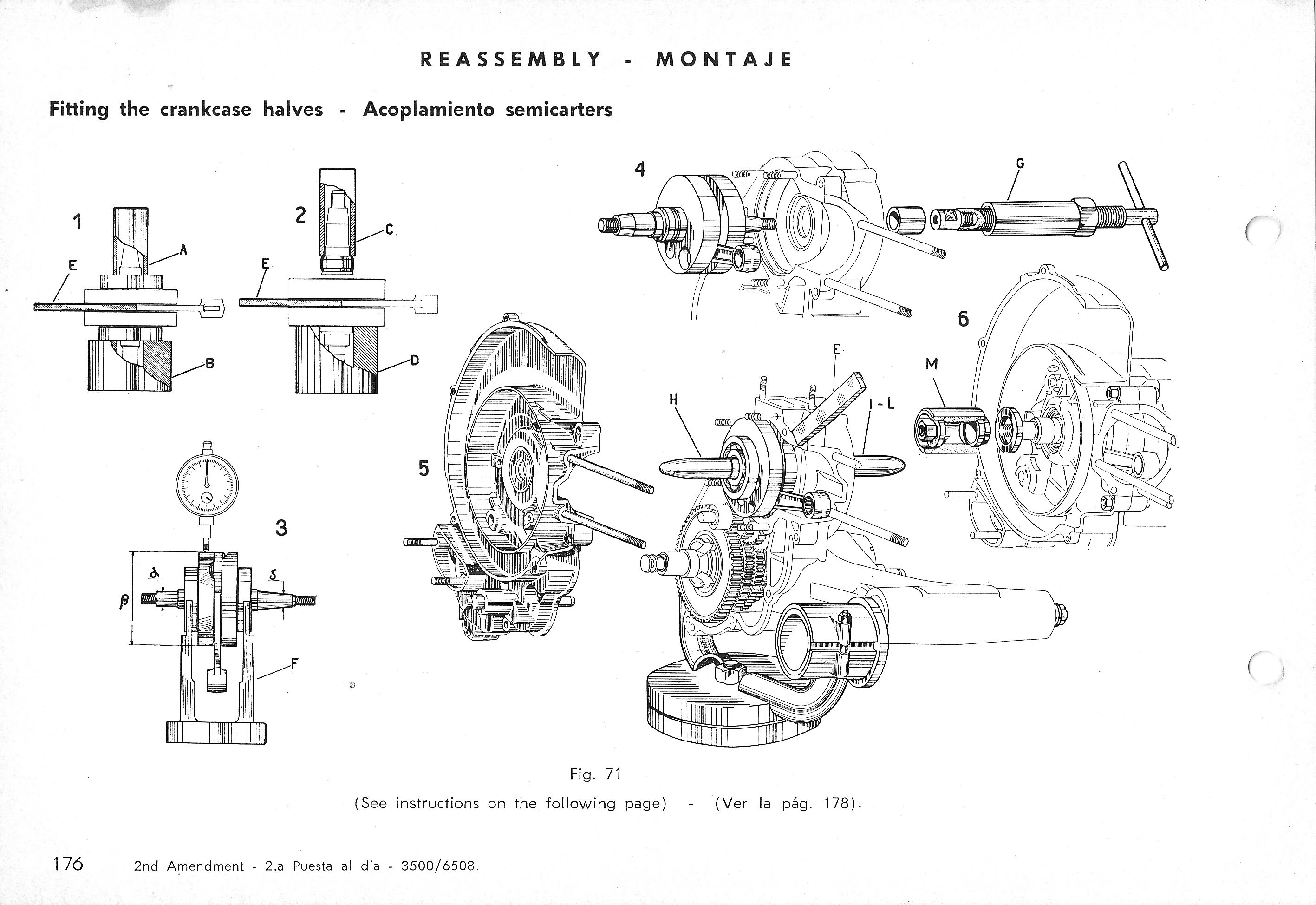 Vespa Service Station Manual 176