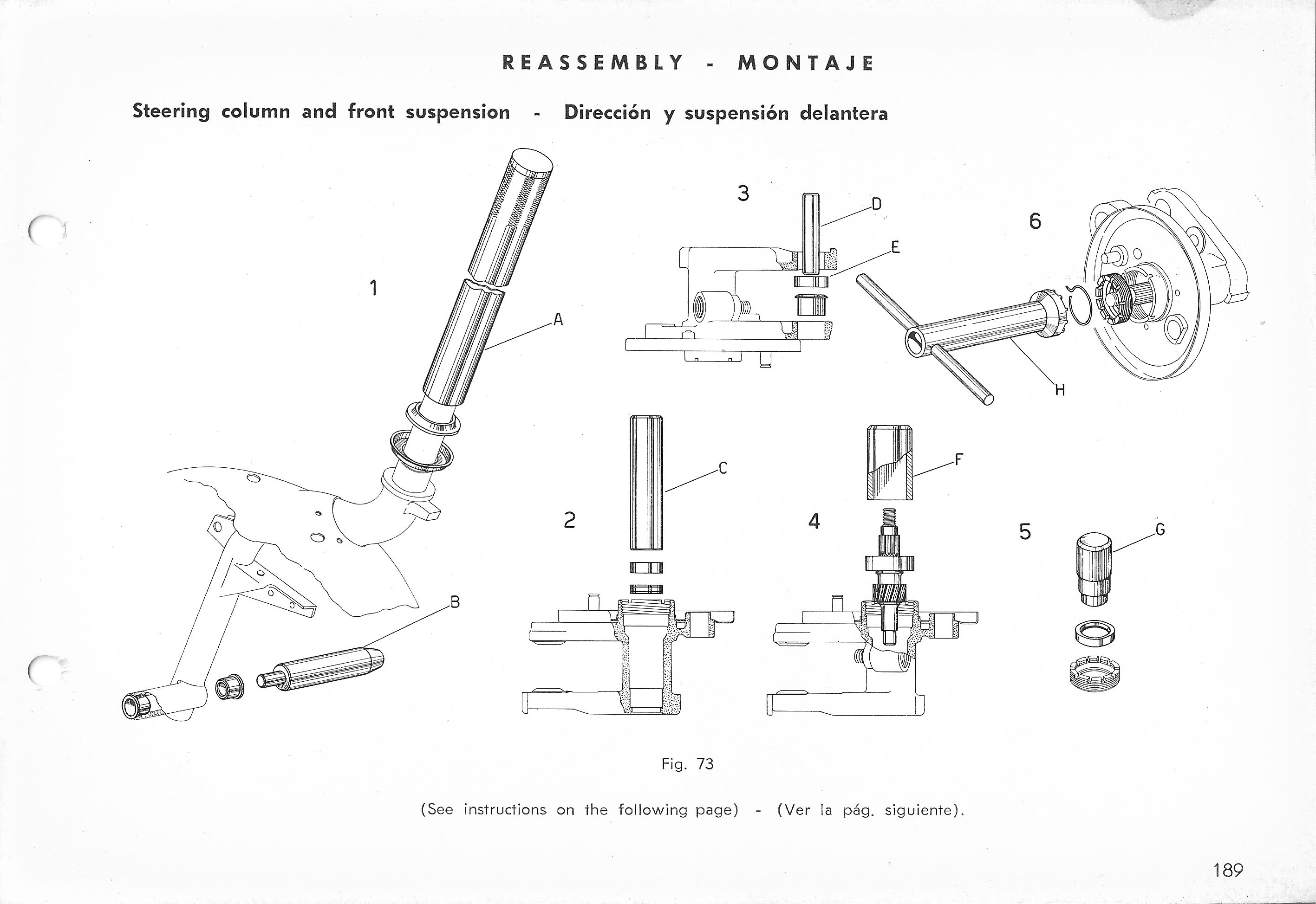 Vespa Service Station Manual 189
