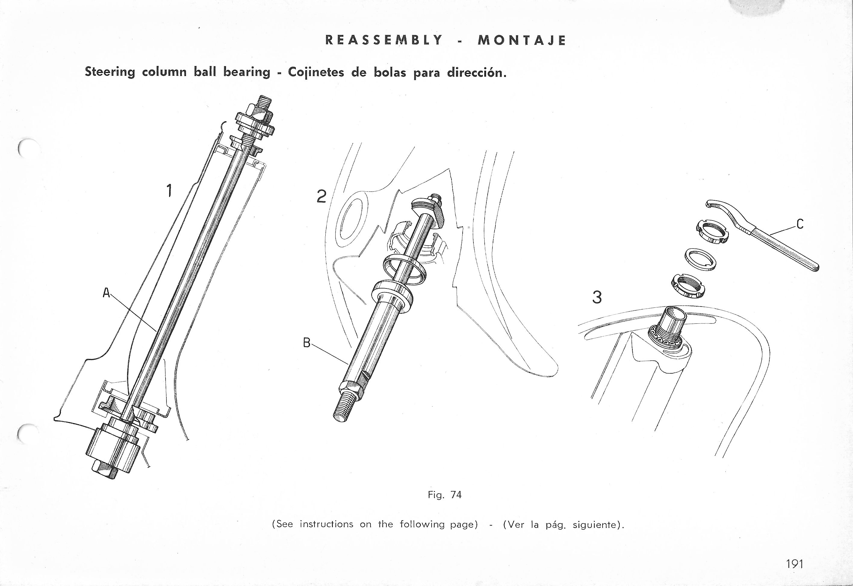 Vespa Service Station Manual 191