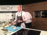 Masterclass with Chef Anthony Demetre, Arbutus & Wild Honey, UK, 2* Michelin - featuring his mackerel burger and razor clam salad