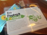 May: Pay It Forward. This is the first time I joined in an SG Kindness Movement activity and had a great time!
