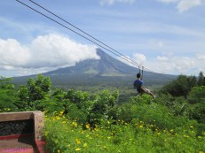 View of Mt. Mayon from Ligñon Hill + Ziplining