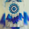 Sun Blue Shade Dreamcatcher