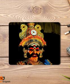 Yakshagana Look Mouse Pad