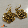Antique Floral Earrings   Ethnic Essence