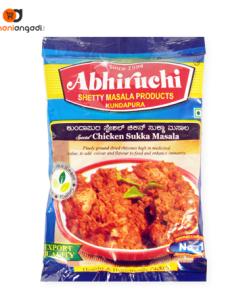Abhiruchi Chicken Sukka Masala - 400 Grams
