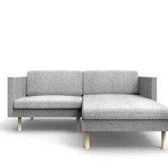 Sofas For Small Es Gray Leather Modern Sofa Corner Leaf Mini Chaise Lounge On Right Oot Studio