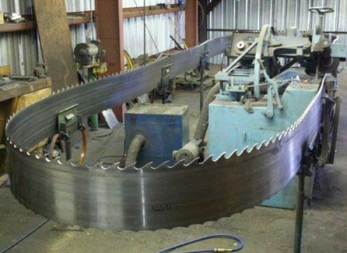 60 foot bandsaw