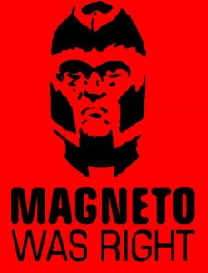 Magneto-red