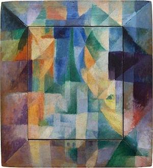 Robert Delaunay, Les fenêtres simultanées sur la ville (1912)