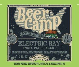 Beer Camp Electric Ray Pale Lager