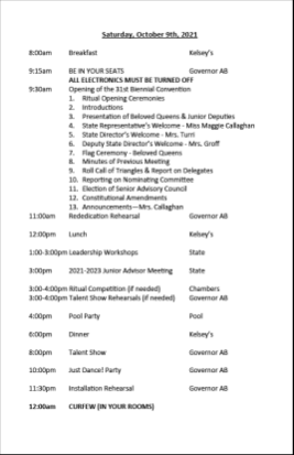 2021 Convention Schedule of Events final10241024_2