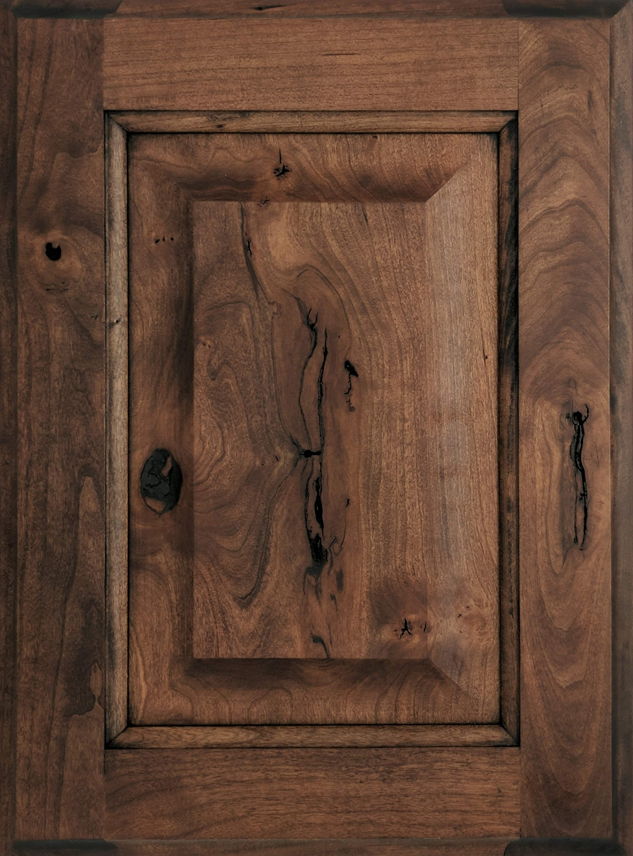 rustic hickory kitchen cabinets centerpiece for table cherry - out of the woods custom cabinetry