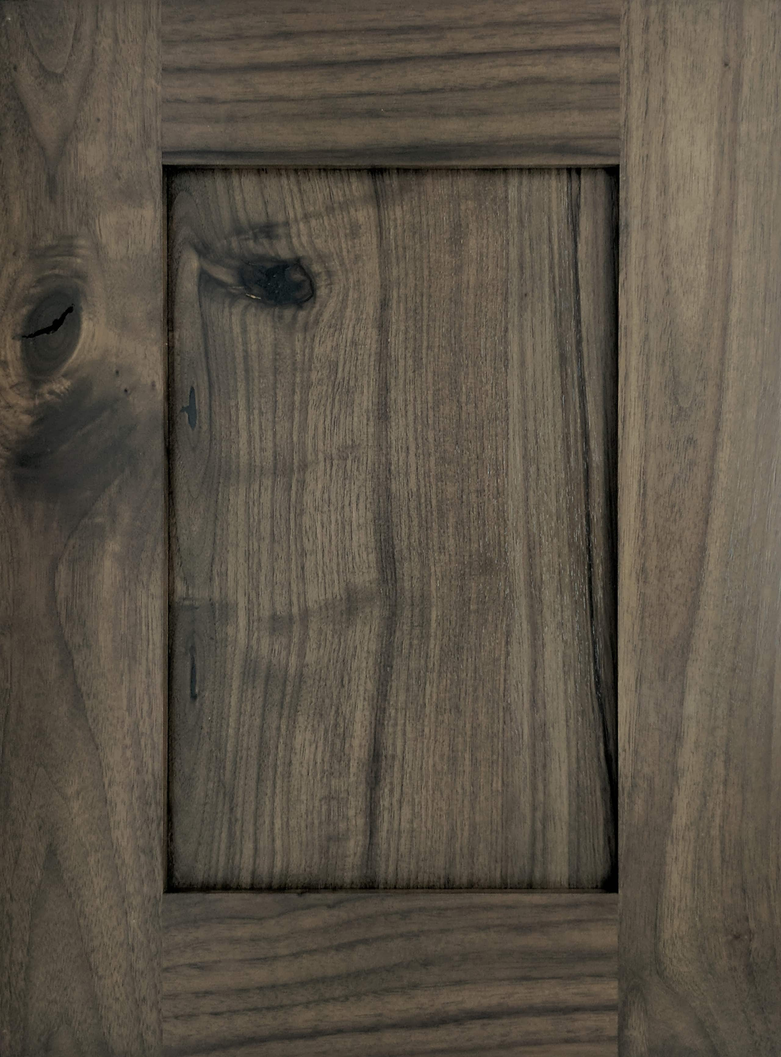 Rustic Walnut  Out Of The Woods Custom Cabinetry