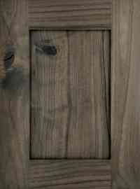 Rustic Walnut - Out Of The Woods Custom Cabinetry