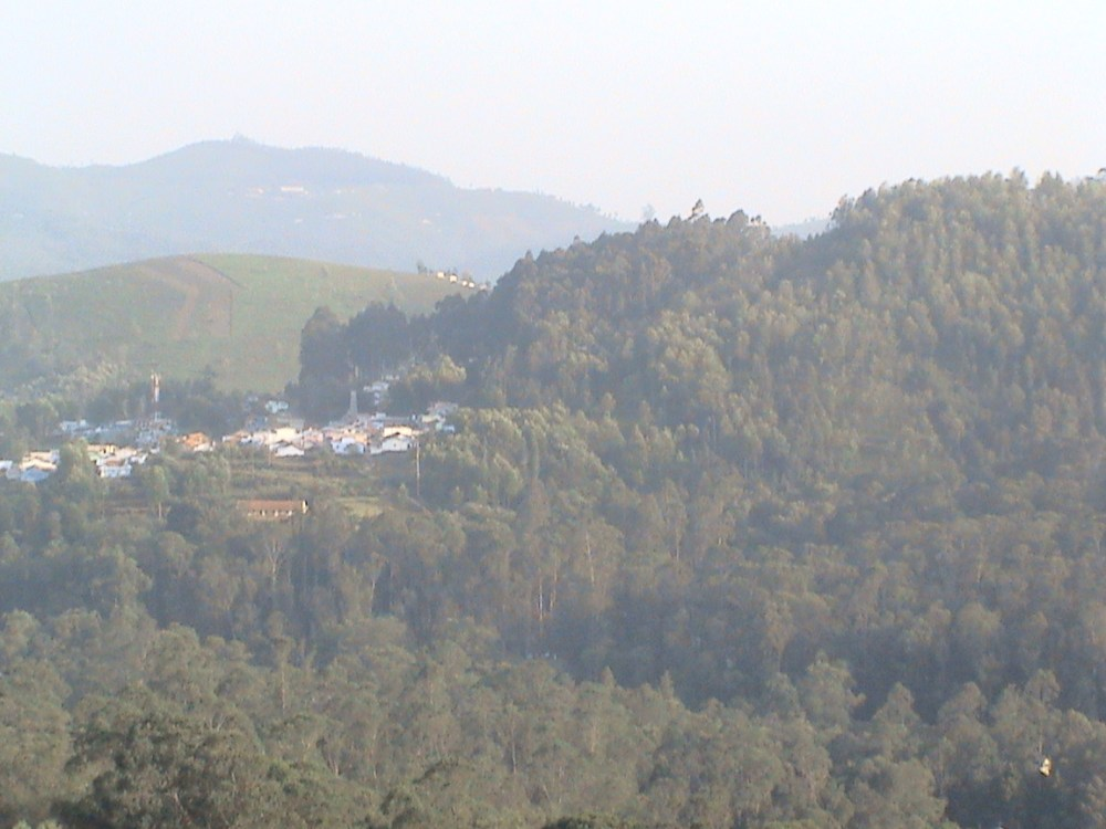 Aruvankadu Land for Sale. Ooty to Coonoor Main Road with Hill View (3/6)