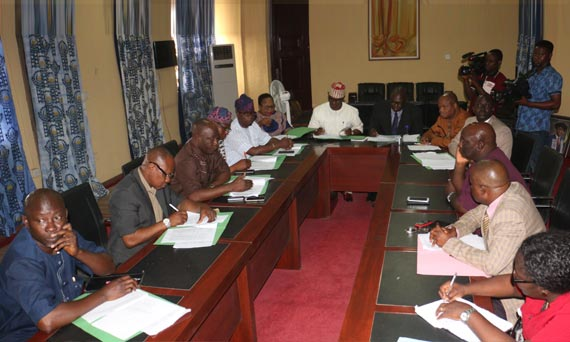Ogun State House Committee On Education, Science And Technology Visits OOU For Oversight Function