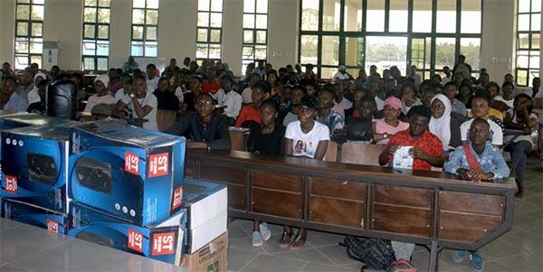 Public Address System,  SUG Executive, Mr. Afolabi Akinbo