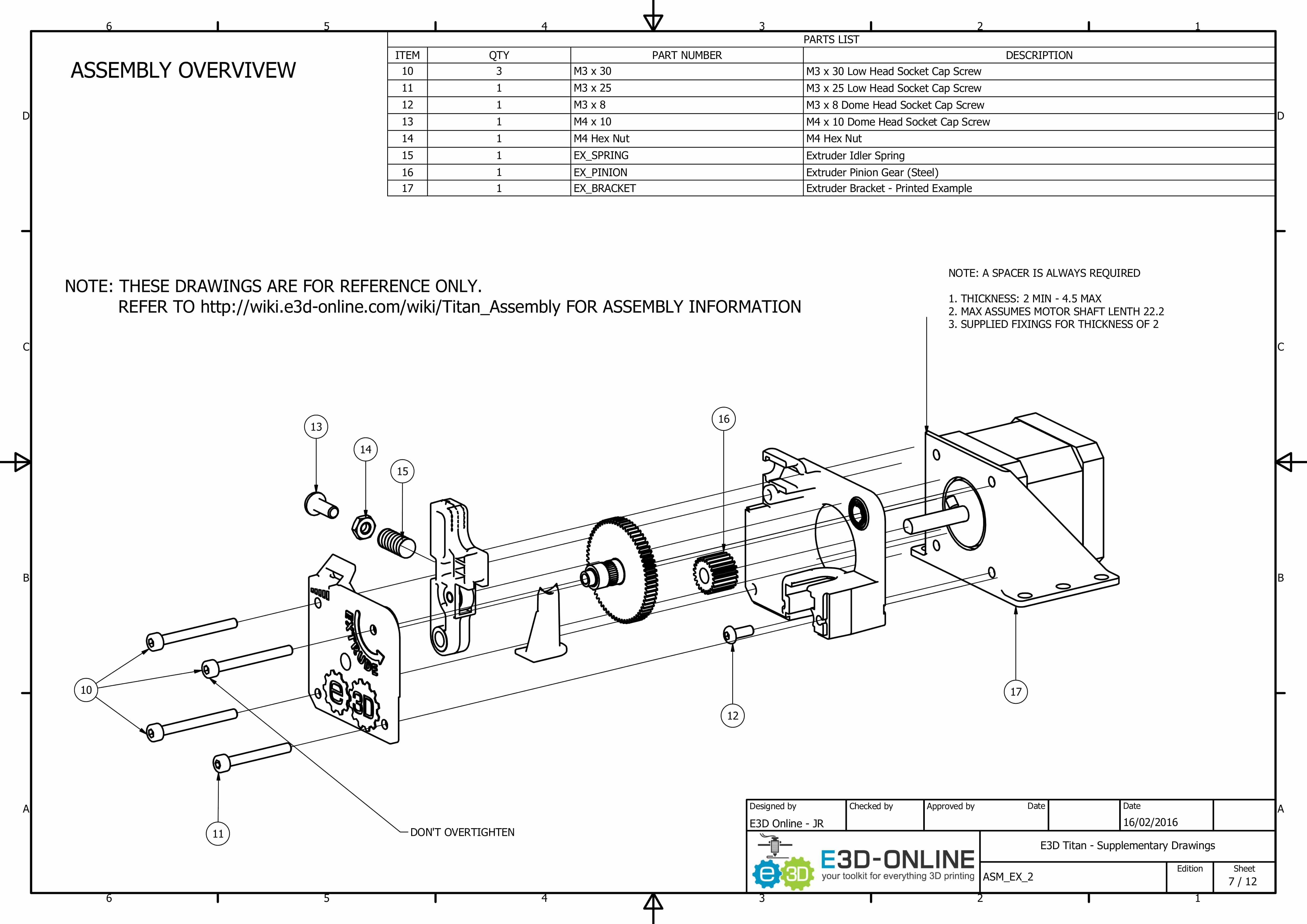 E3D Titan Aero Upgrade Kit – 3D Printer