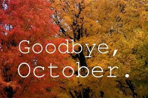 goodbye october