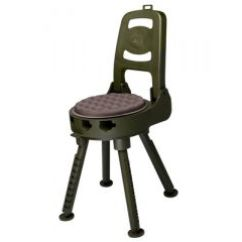 Hunting Seats And Chairs Porch Rocking Lowes Quake The Stag Swivel Stool With Back Rest 90000 9 4