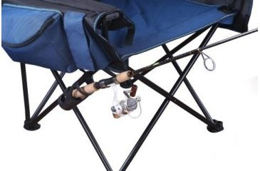 folding chair fishing pole holder gray recliner stansport deluxe arm w free shipping utility and should g 403