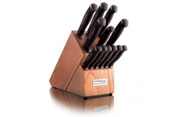 rating kitchen knives wood table cold steel 14in knife set 36 off 5 star w free black silver