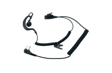 Midland Radio Earphone Mic w/ PTT and L-Type Plug, 2 Pin