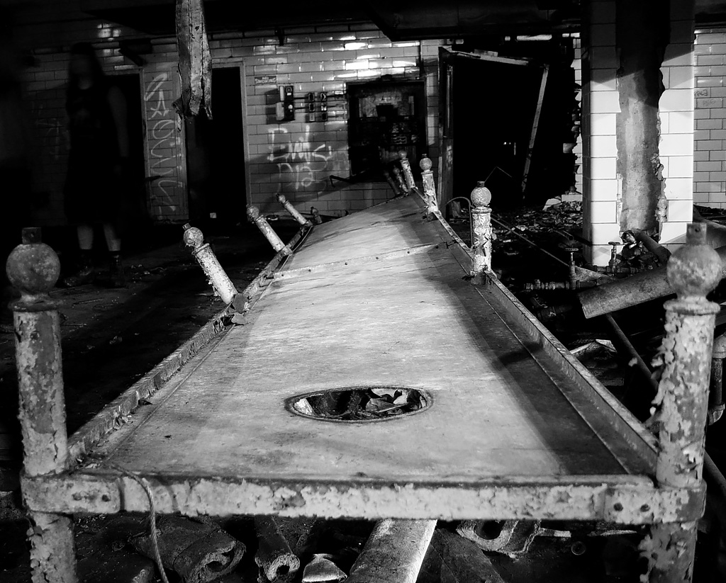 Twisted Table Photo Of The Abandoned Philadelphia State