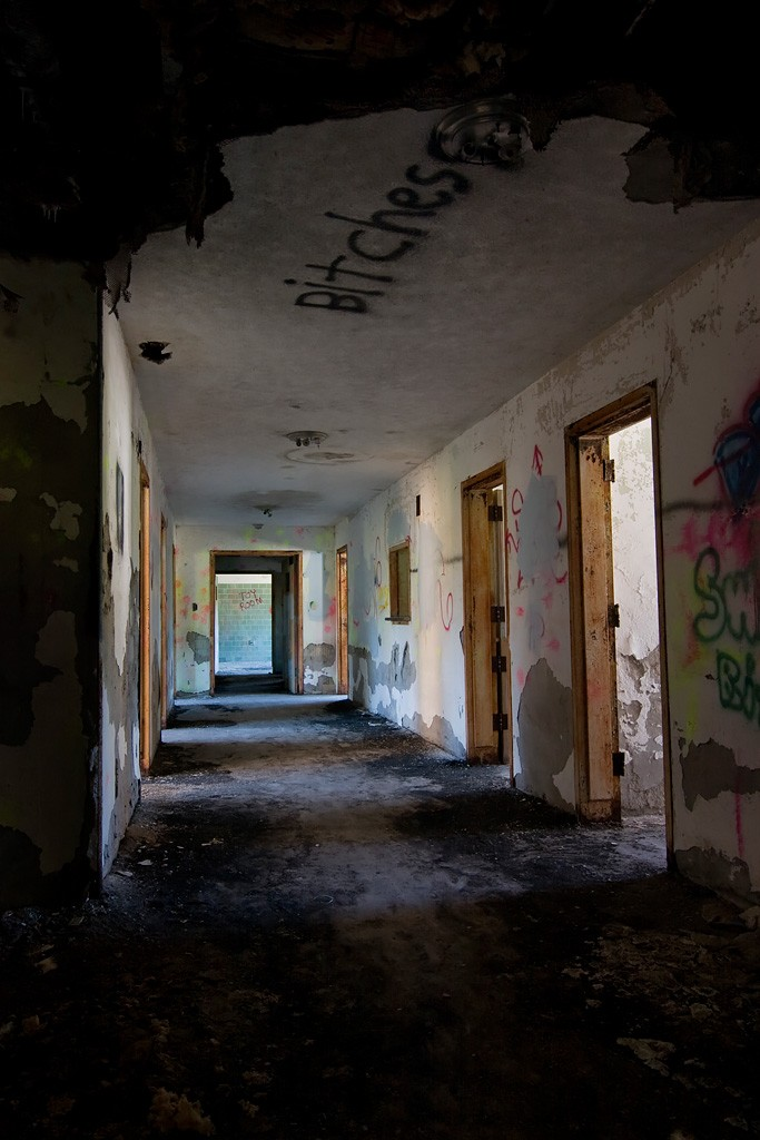 Charm Photo Of The Abandoned Lima State Tuberculosis