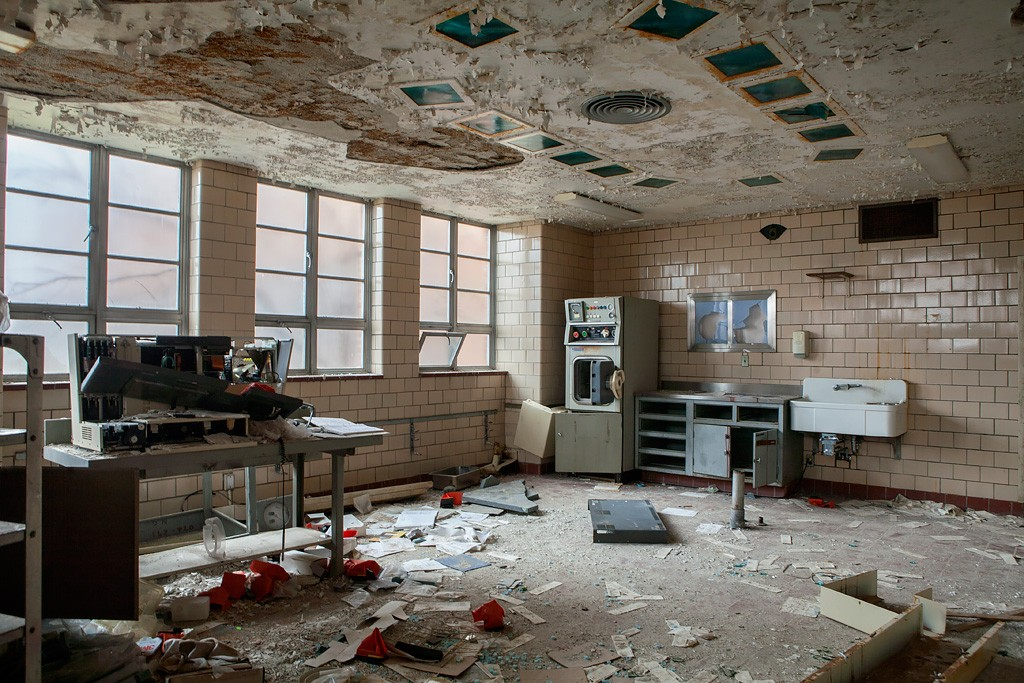 Autopsy Room  Photo of the Abandoned Northville State