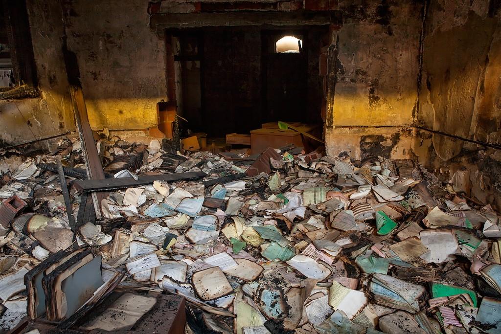 Crispy Photo Of The Abandoned Rancho Los Amigos