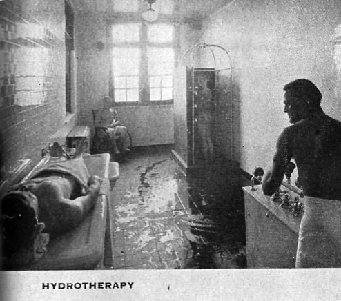 Hydrotherapy Room  Photo of the Abandoned Greystone Park Psychiatric Center