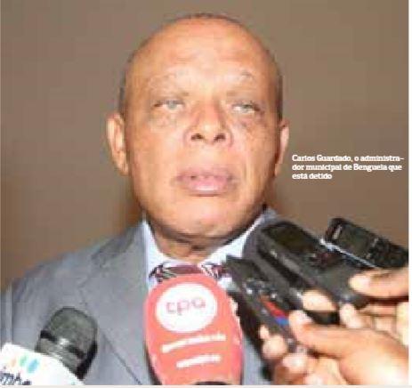 Governo de Benguela lamenta  detenção do administrador  Carlos guardado  co