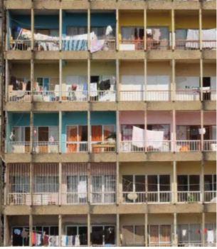 Fotógrafo Ngoi ilustra dificuldades vividas em apartamentos em Luanda em prol dos 444º aniversário da cidade