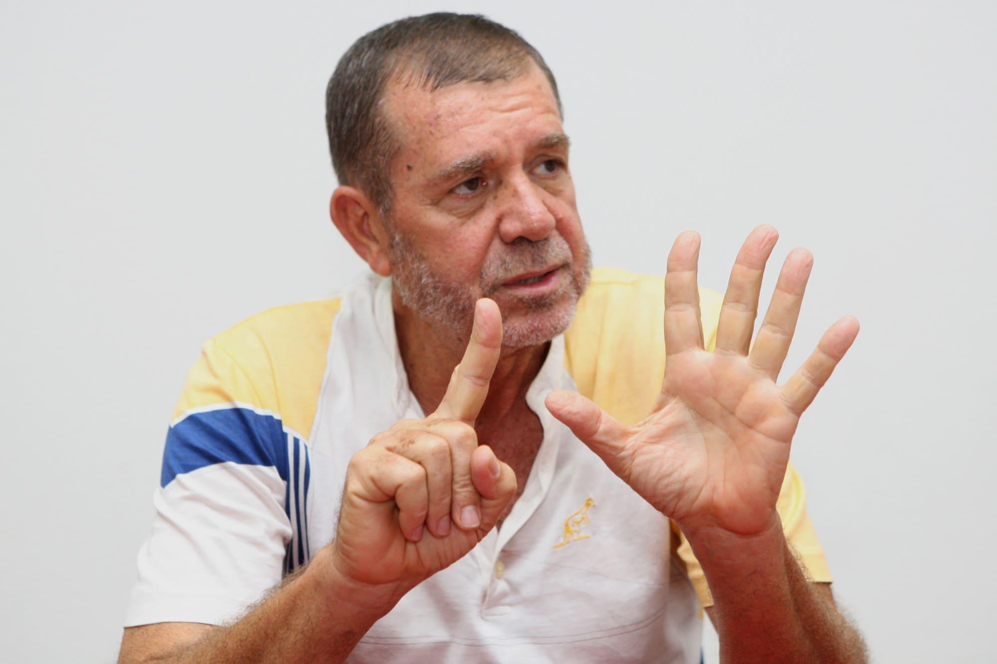 Victorino Cunha defende novo modelo para o basquetebol